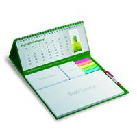 Maxi calendar with pen
