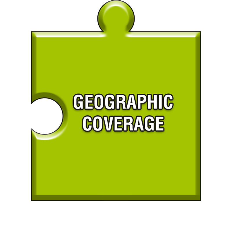 Geographic coverage