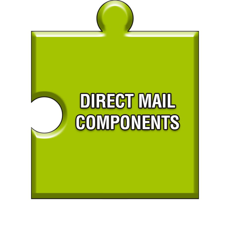Direct mail components
